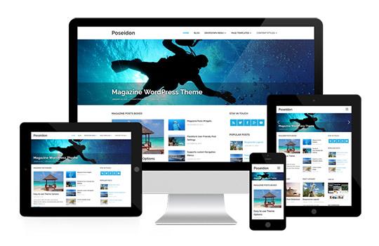 Mobile friendly WordPress stran